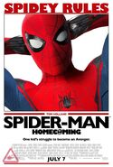 Spider-Man Homecoming Ferris Bueller's Day Off poster
