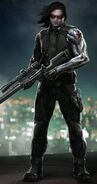CATWS Winter Soldier concept art 2