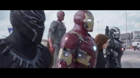 Capitán América Civil War - Nuevo Spot