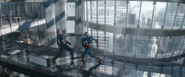 Captain America fights Captain America