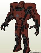 Crimson Dynamo 3D