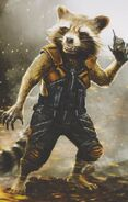 GOTG Vol. 2 concept art Rocket 4
