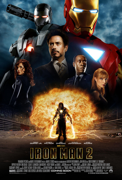 Iron Man 2 Poster Oficial Internacional