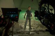 On set Iron Man 3 03