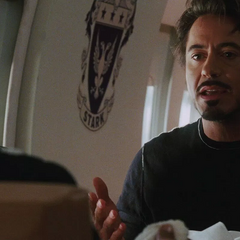 Stark responde a las quejas de Rhodes.
