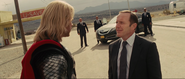 Thor & Phil Coulson