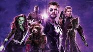 Thor and The Guardians Of The Galaxy banner