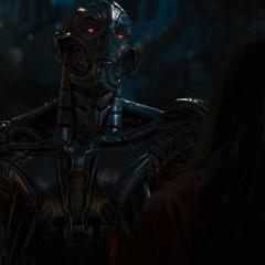 Ultrón explica su plan para destruir a los Vengadores.