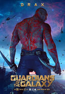 GotG Drax Poster