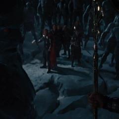 Laufey se reencuentra con Odín.