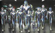 Quantum Realm suits concept art 2