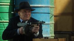 Coulson fires on the Hunters