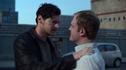 Erik confronting Sallinger