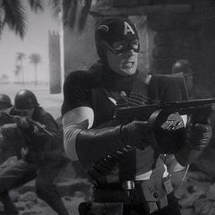 Rogers graba sus escenas para una película.