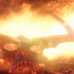 Surtur es vencido por Thor.