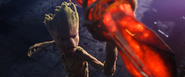 AIW Groot Helps Making Stormbreaker