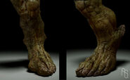 Abomination foot concepts