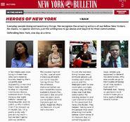 Bulletin heroes of new york