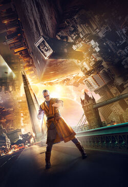 Doctor Strange Character Poster Textless 06