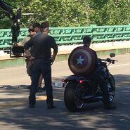 Film set pic Captain America 2 04