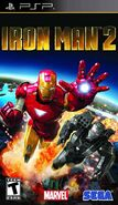 IronMan2 PSP US cover
