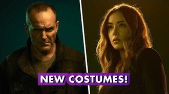 Marvel's Agents of S.H.I.E.L.D. Behind Sarge & Quake's New Costumes