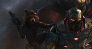 Rocket Raccoon & War Machine