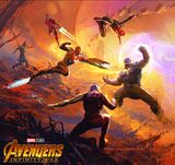 The Art of Avengers: Infinity War