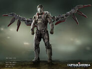 Captain America The Winter Soldier 2014 concept art 36