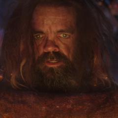 Eitri es testigo de la creación del Rompetormentas.