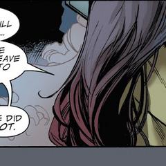 Gamora recibe la orden de Thanos de abandonar a Nebula.