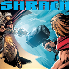 Odín envía a Thor a la Tierra.