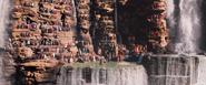 Wakandans at Warrior Falls