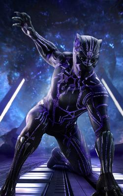 Pantera Negra - Hábito póster
