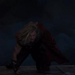 Thor entra al Quinjet.