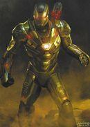 Avengers Endgame concept art War Machine 6