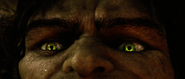 Hulk's Green Eyes