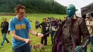 James Gunn & Yondu (GOTG Vol. 1 BTS)