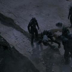 Korath intenta destruir le Milano.