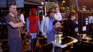 Reviewing Footage (The Making of Spider-Man Homecoming)
