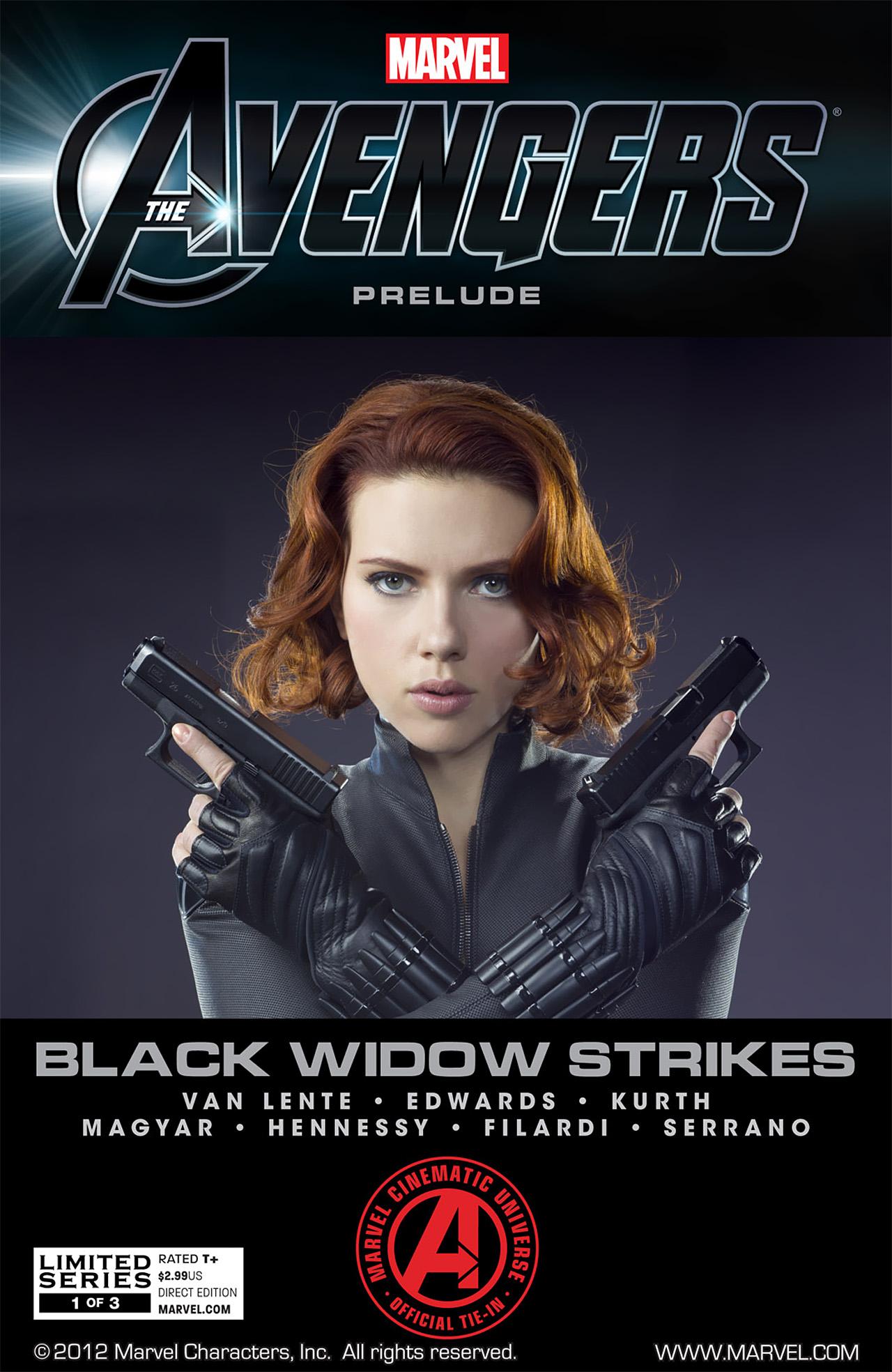 The Avengers Prelude: Black Widow Strikes   Marvel Cinematic
