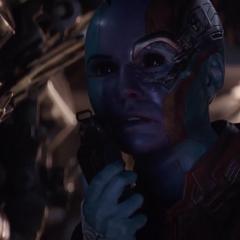 Nebula de 2023 intenta comunicarse con Barton y Romanoff.