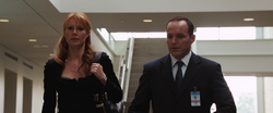 Pepper Potts & Agent Coulson