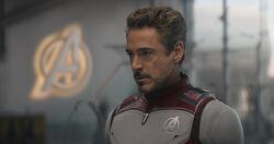 Stark White Suit Endgame