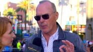Michael Keaton Swoops Into the Spider-Man Homecoming Red Carpet World Premiere