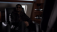 Nick Fury on the Bus