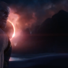 Thanos escucha cuál es la manera de obtener la Gema del Alma.