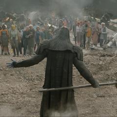Ronan amenaza con destruirlos a todos.