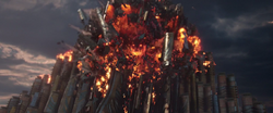 Surtur Destroys Palace