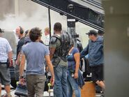 Film set pic Captain America 2 06